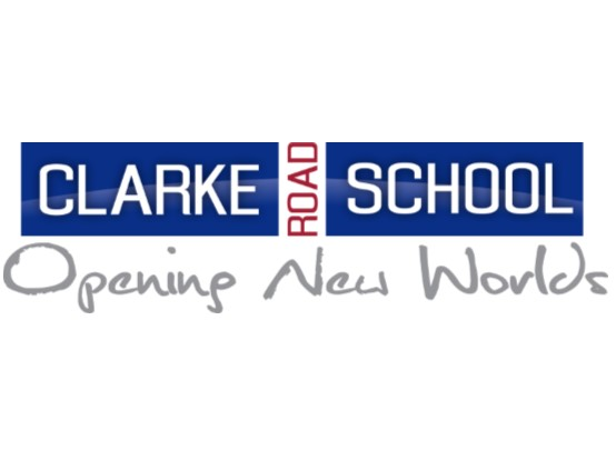 Clarke Road School logo